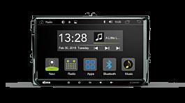 Android Autoradio für VW, Seat, Skoda | R-C10VW1