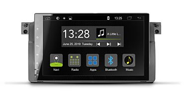 Android Autoradio für BMW 3er E46 Limousine, Touring, Coupé und M3 | R-C11BM1