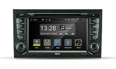 Android Autoradio für AUDI A4 | R-C10AD2