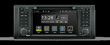 Android Autoradio für BMW 5er E39 Limousine, Touring und M5 | R-C10BM3
