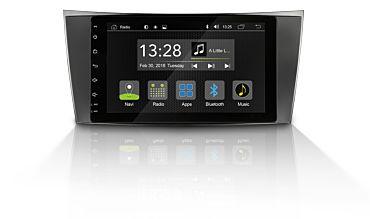 Android Autoradio für Mercedes E-Klasse (W211, C219) | R-C10MB2