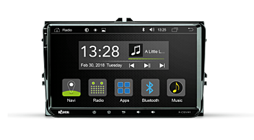 Android Autoradio für VW, Seat, Skoda   R-C10VW1