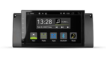 Android Autoradio für BMW 5er E39 Limousine, Touring und M5 | R-C11BM3