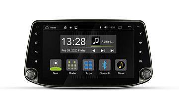 Autoradio R-C11HY1 Hyundai i30 Frontalansicht